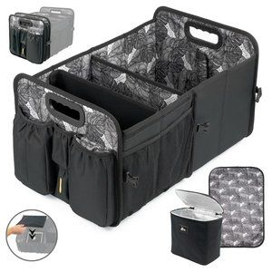 Car Boot Organiser, Cooler and Lid - Nappy Caddy